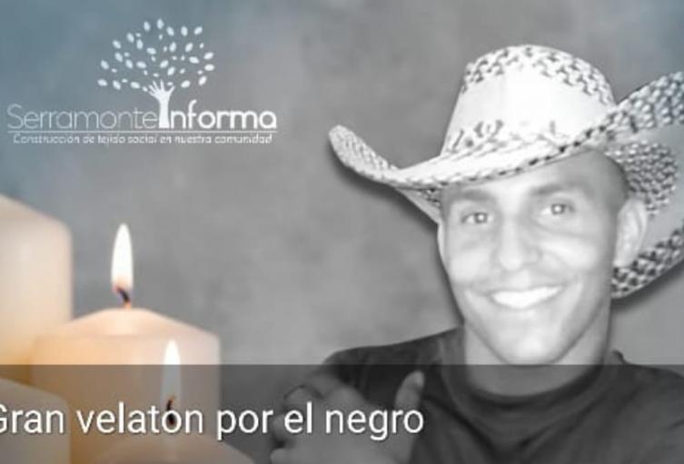 Comunidad de Bello rinde homenaje a joven asesinado al resistirse a un atraco