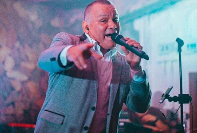 Cantante antioqueño, Fernando González.