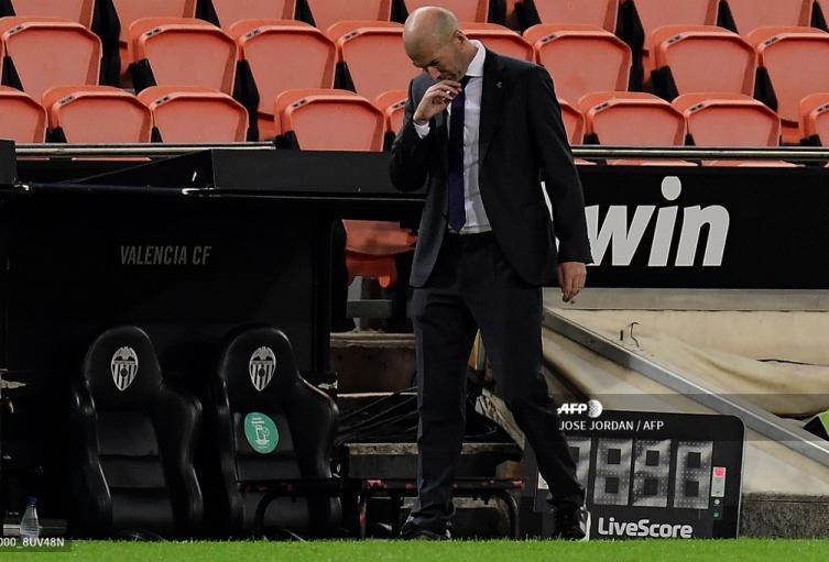 Zinedine Zidane, técnico del Real Madrid