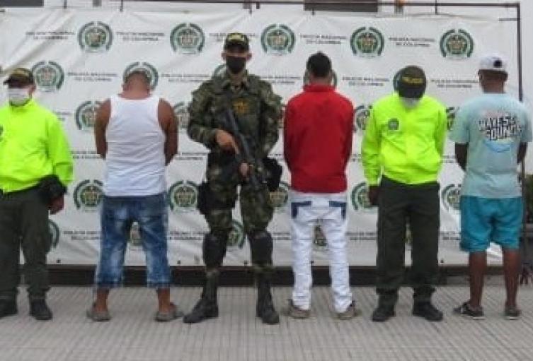 Los detenidos al parecer serían integrantes del Clan del Golfo.