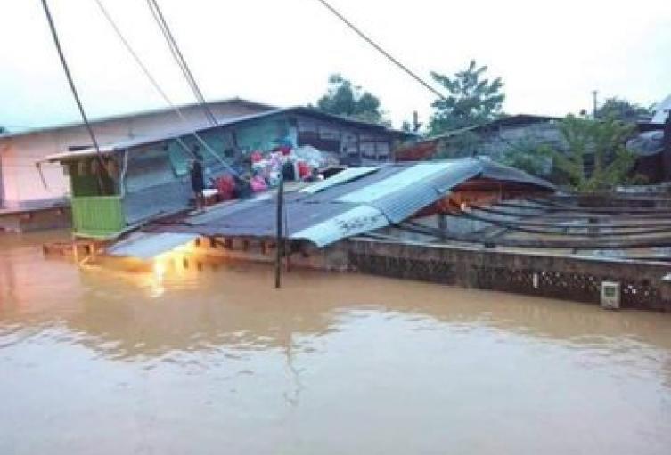 Quince municipios chocoanos reportan graves afectaciones por las lluvias.