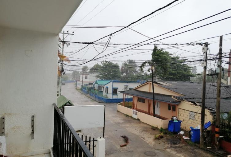 Paso de huracán IOTA por San Andrés