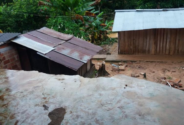 Emergencias por lluvias en San Francisco, Antioquia