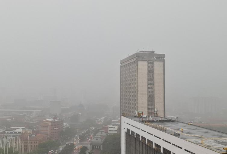 Lluvias en Medellín