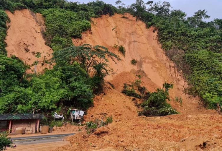 Deslizamiento en San Luis, Antioquia