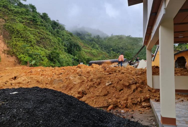 Movimiento en masa en San Luis, Antioquia