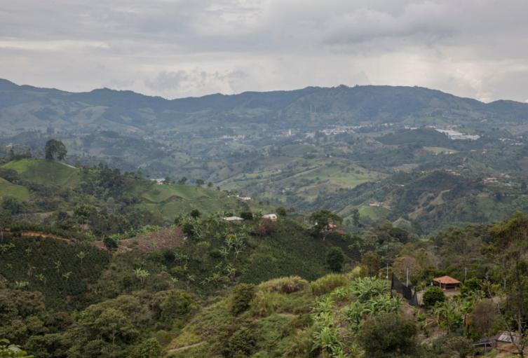 Zona de influencia del proyecto Quebradona en Jericó, Antioquia.