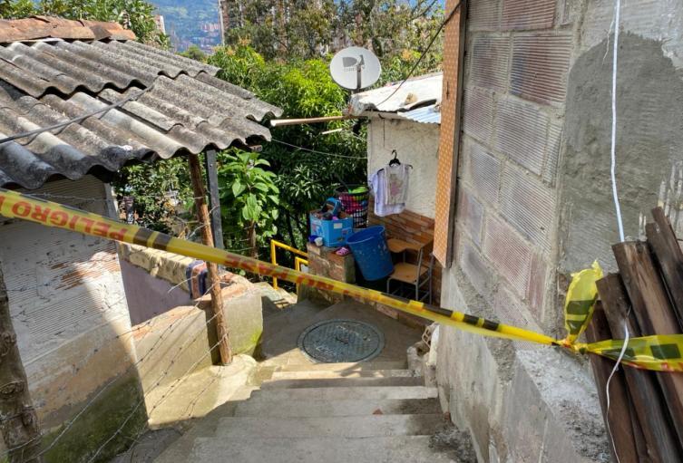 Esta es la segunda muerte violenta que se reporta este año en ese municipio del Norte del Valle de Aburrá.