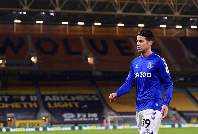 James Rodríguez - Everton 2021