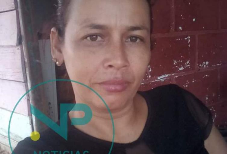 Líder social Linda Díaz Romero, asesinada en Cáceres, Antioquia.