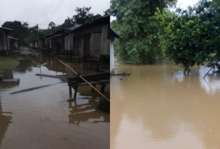 Inundaciones en Medio Baudó, Chocó
