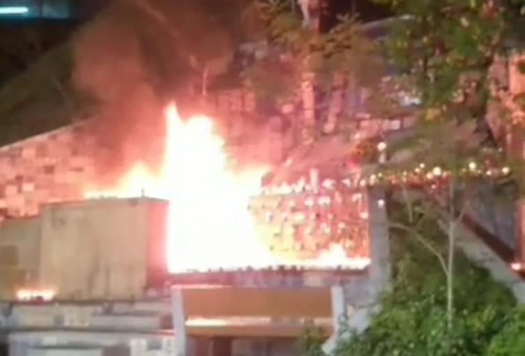 [Video] Una vez más se incendia el santuario de la Rosa Mística de la Aguacatala en Medellín