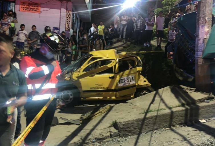 Accidente en Bello, Antioquia.