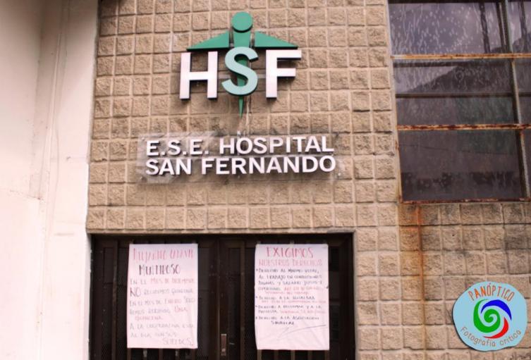 Hospital San Fernado de Amagá, Antioquia.