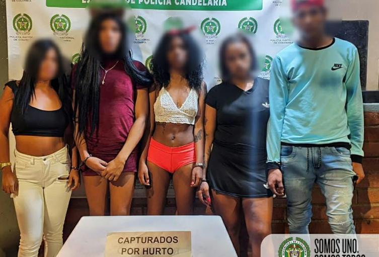 [Video] Así graba la policía a los ladrones del centro de Medellín