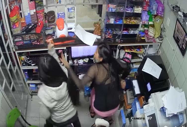 Niña de 14 años enfrentó a ladrones en Bogotá