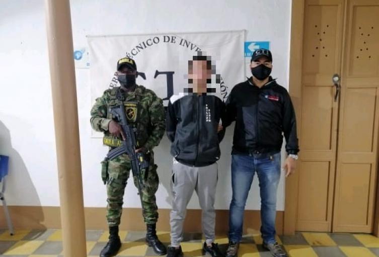 """Capturan a """"Ratoncel"""" supuesto sicario que habría participado en la masacre de 5 personas en Andes, Antioquia"""