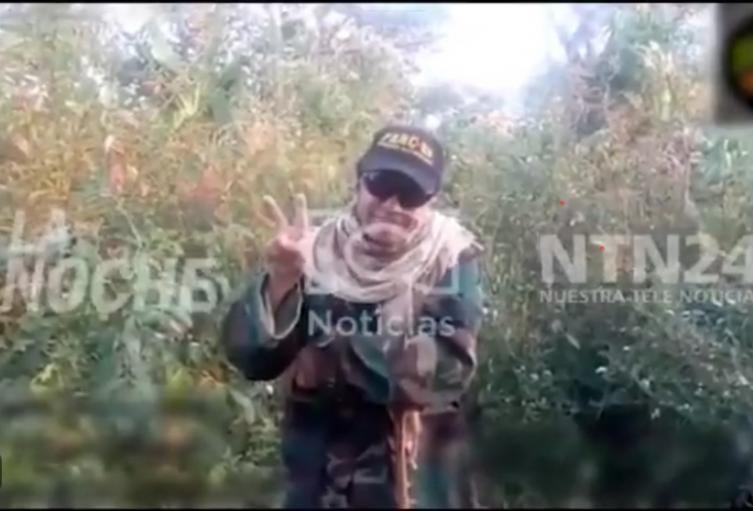 [Video] Desde Venezuela, 'Jesús Santrich' envió amenaza a Iván Duque