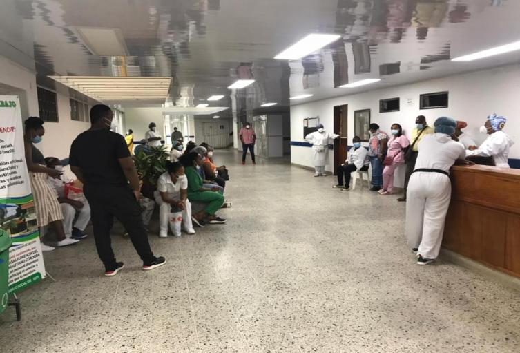 Referencia Hospital San Francisco de Asís de Quibdó.