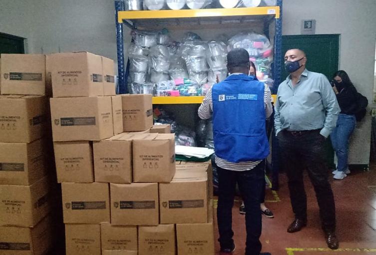 Las familias continúan recibiendo apoyo de la Unidad de Víctimas en Antioquia.