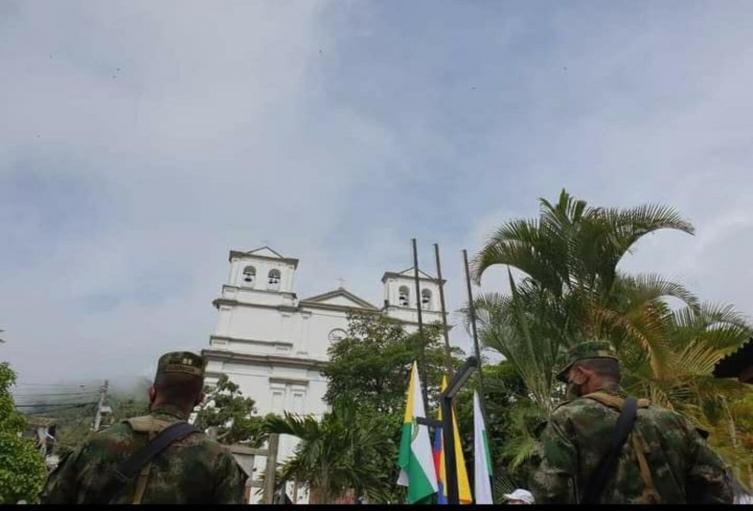 Referencia municipio de Buriticá, Antioquia.