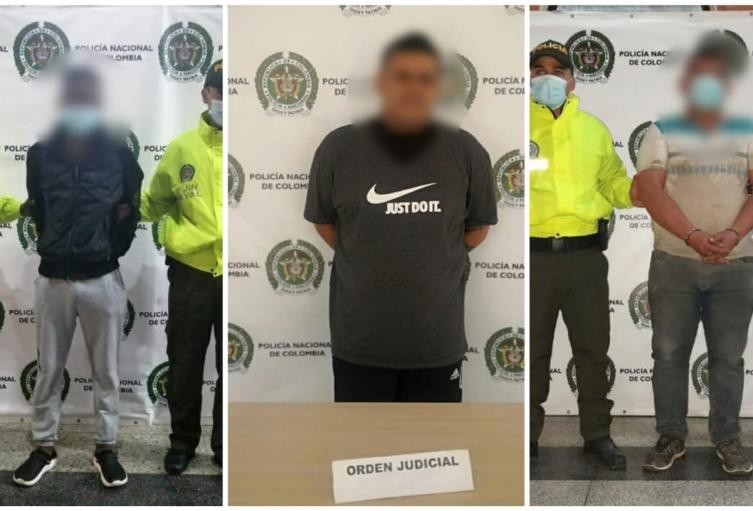 Capturadas cinco personas en el Valle de Aburrá, señaladas de cometer cuatro homicidios