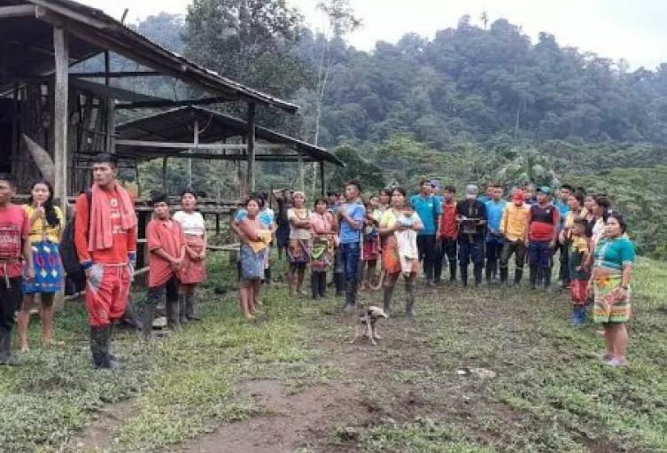 Referencia indígenas en Antioquia.