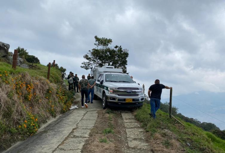 Lo asesinaron en zona boscosa del occidente de Medellín