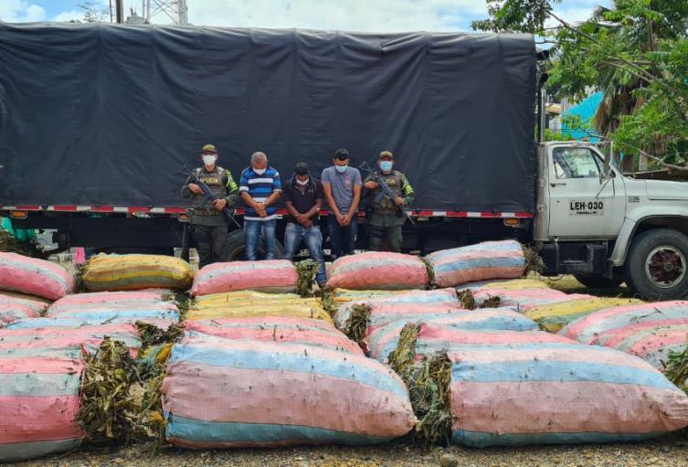 Este cargamento estaba valorado en 40 millones de pesos.