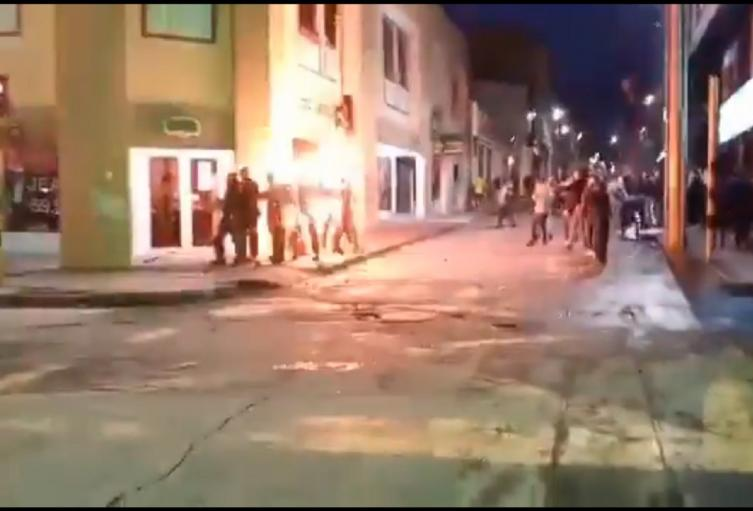 Policías en Pasto