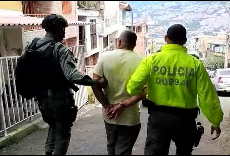 """Cogieron en Manrique a """"Cheto"""" supuesto coordinador de  """"La Terraza"""" en Medellín"""
