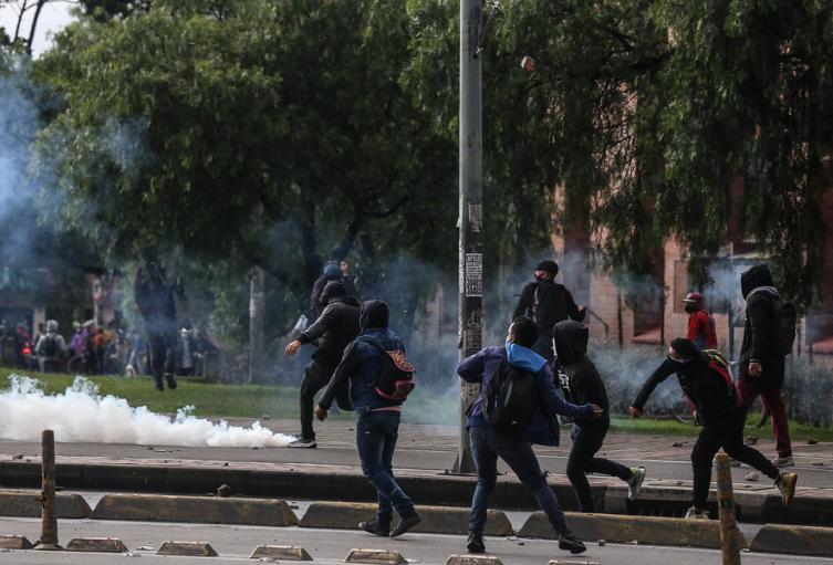 Vandalismo en paro nacional 28 de abril