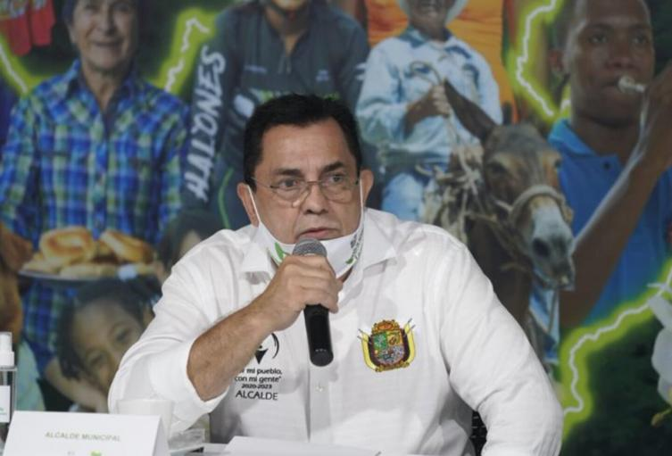 Alcalde de Titiribí, Juan Guillermo Bolívar Colorado.