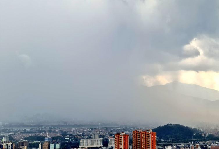 Referencia lluvias en Medellín.