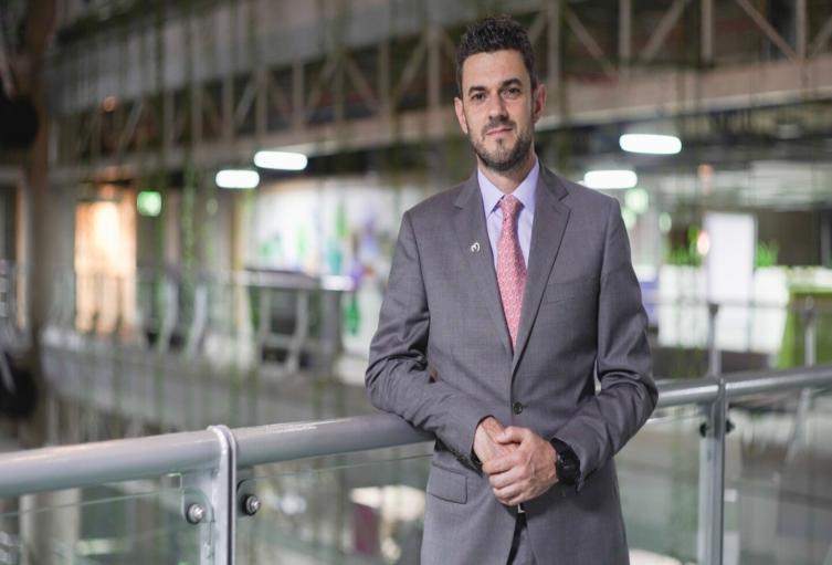 Alejandro Calderón, gerente del Grupo EPM.
