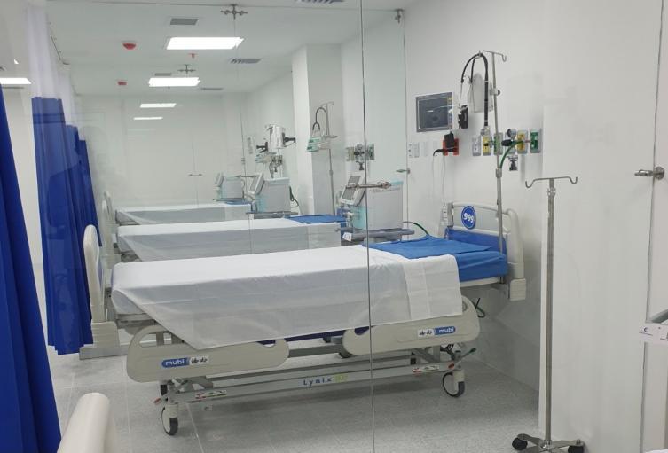 Referencia camas UCI en Medellín.