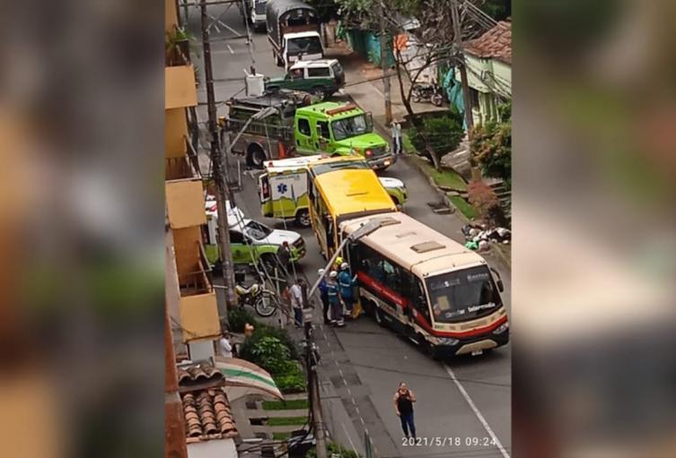 Entre los heridos hay un menor de edad, informaron las autoridades.