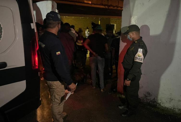 El conductor del automotor fue capturado.