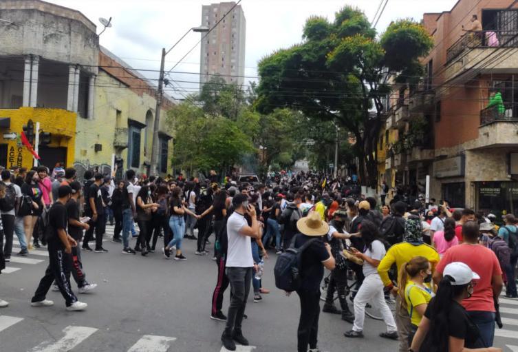 Manifestaciones Medellín