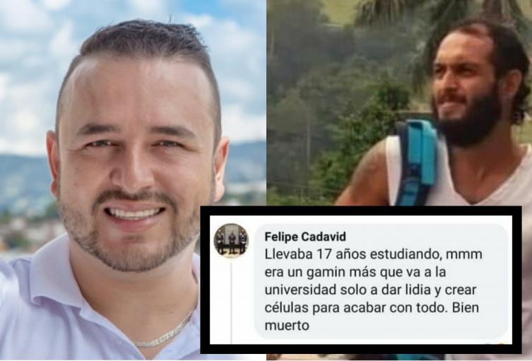 """""""Un buen muerto"""", así calificó el gerente del hospital de Nariño Antioquia a Lucas Villa"""