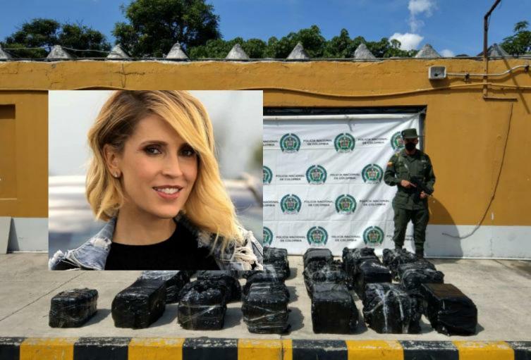Encuentran cocaína en aeronave propiedad del esposo de Alejandra Azcárate