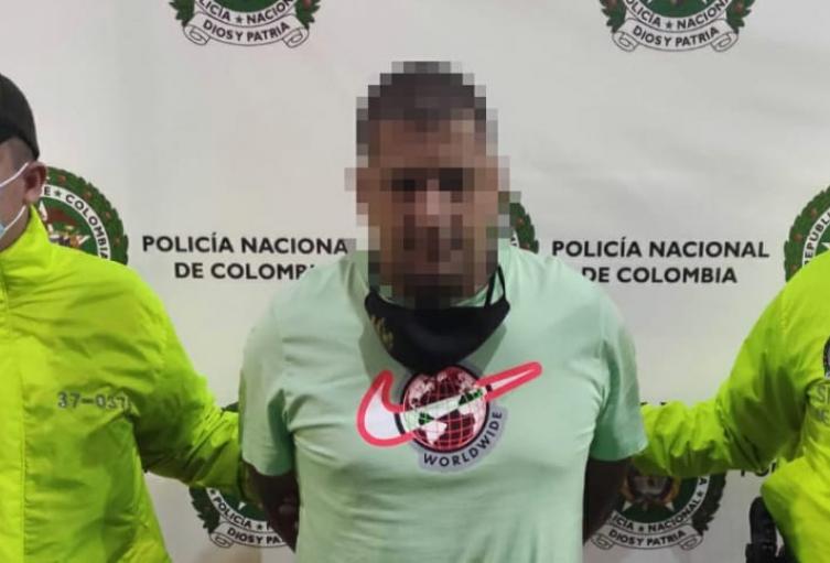 """Cogieron a alias """"Piña"""" uno de los duros del combo del """"Guayabo"""" de Itagüí"""