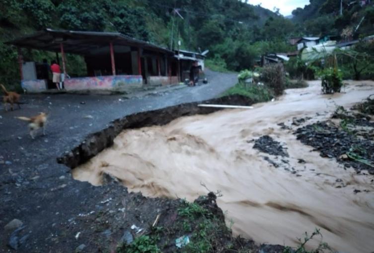 Afectaciones por las lluvias en Antioquia. (Imagen referencial).