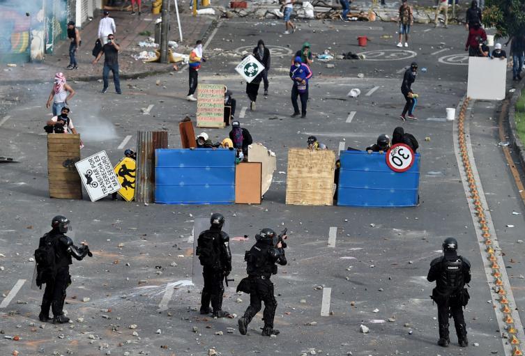 Manifestaciones en Colombia