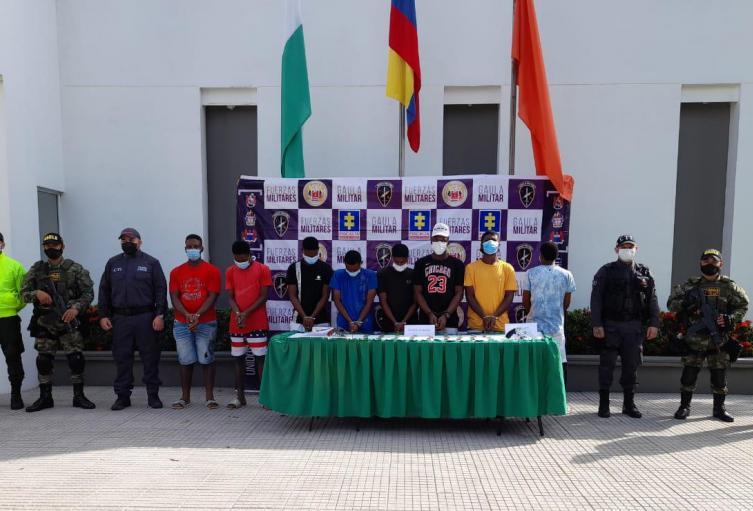 """Entre los detenidos se encuentra alias """"Loco Negro"""", presunto jefe sicarios de esta organización"""