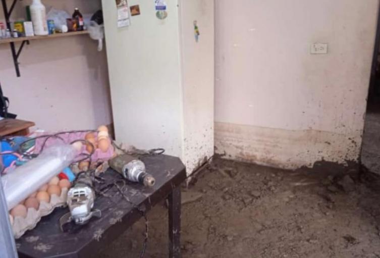 ¡No para el invierno en Antioquia! Fuertes lluvias dejaron inundaciones en seis viviendas en Andes, Antioquia