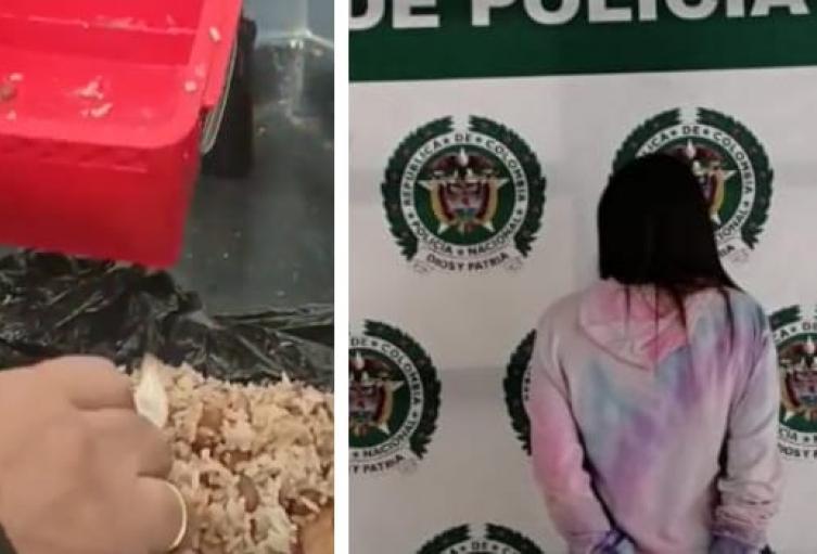 Escondía en la coca del caletao dosis de cocaína, bazuco y marihuana en Sabaneta