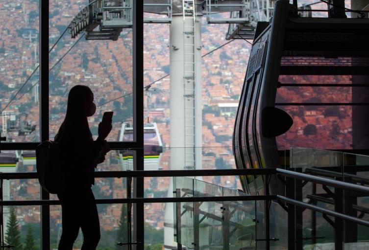 Referencia Metrocable Picacho de Medellín.