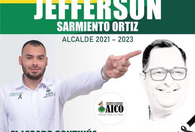 Jefferson Sarmiento Ortíz, nuevo alcalde de Caucasia, Antioquia.