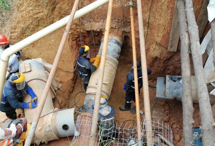 EPM suspendió el servicio de agua a 45 mil viviendas de Itagüí